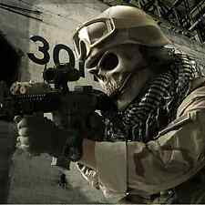 Tactical Military Skull Skeleton Full Face Security Mask Game Hunting Costume