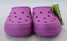 Crocs Freesail Lined Clog Orchid/Oatmeal Various Sizes Great Slipper House Shoe