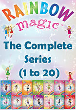 Rainbow Magic The Complete Series Collection Daisy Meadows Colour, Weather, Baby