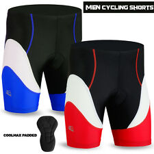 Mens Cycling Short Padded Coolmax Anti-Bac MTB Bicycle Pant Short Size - S to XL