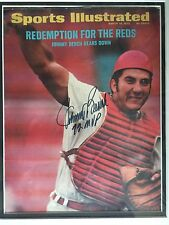 JOHNNY BENCH Signed March 13, 1972 Sports Illustrated - No Mailing Label Auto