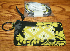 NWT Vera Bradley ZIP ID CASE gift card holder AND MATCHING LANYARD badge holder