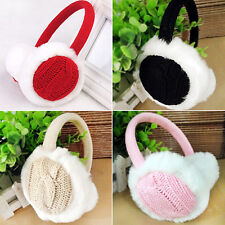 Novel Girl Winter Warm Kint Earmuffs Earwarmers Ear Muffs Earlap Warmer Headband