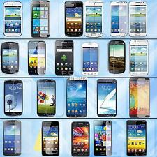 clear transparent lcd screen protector shield guard film for samsung galaxy