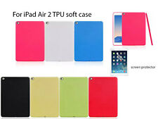 Screen protector/Dot Pattern TPU soft skin Case for iPad Air 2