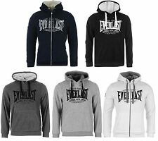 Everlast Fleece Hoody Sweatshirt or Jacket Mens UFC MMA Boxing Hooded Jumper Top