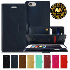 GOOSPERY® Mansoor Card Diary PU Leather Wallet Case Cover for Apple iPhone 6S 6