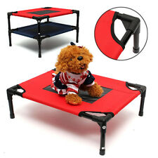 Dog Pet Cat Elevated Bed Folding Portable Raised Camping Indoor Outdoor Foldable