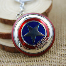 Marvel The Avengers Captain America Shield Metal Keyring Keychain Collectibles