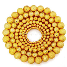 Silver&Golden Stardust Copper Ball Spacer Beads 100pcs 3mm/4mm/5mm/6mm