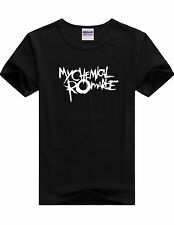 MY CHEMICAL ROMANCE T SHIRT TOP TEE TSHIRT MUSIC BAND ROCK PUNK TOUR CONCERT