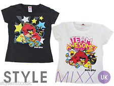 Boys T Shirt Kids Official Angry Birds Awesome T Shirt Top Summer Tee Shirt New
