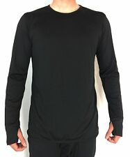 BLACK Military Gen III Power Dry Undershirt, Army ECWCS Base Layer Shirt Top