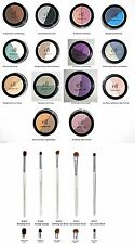e.l.f. Duo Eye Shadow Powder PICK COLOR w/ set of 5 Eye Brushes NEW Free S&H