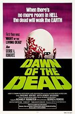 DAWN OF THE DEAD Silk Fabric Movie Poster Horror Zombies George Romero