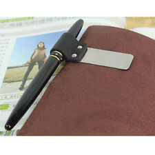 Traveler Notebook Notepad Diary Book Fittings Metal Leather Pen Holder Clip Pen
