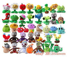 Plants vs Zombies 2PVZ Figures Stuffed Soft Doll Child Gift Baby Plush Staff Toy