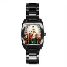NEW Wrist Watch Stainless Holy Mary Jesus Christ Family Catholic Christian