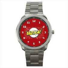 NEW Wrist Watch Stainless Bazinga Big Bang Theory