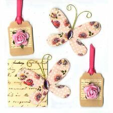 Express Yourself DIY Vintage Toppers Assorted Adhesive Stick On Card Decoration