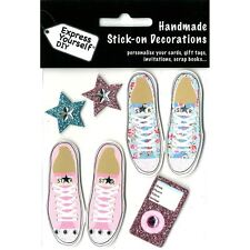 DIY Express Yourself Toppers Handmade Stick On Decoration Assorted Themes Craft