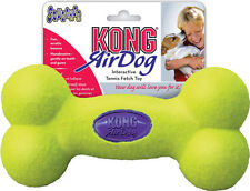 Kong Air Squeaker Bone Interactive Tennis Fetch Toy - Choice of Sizes