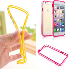 Hot TPU Rubber Ultra Thin Bumper Case Frame Soft Cover For Apple iPhone 6 6S