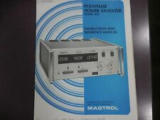 Polyphase Power Analyzer Model 4614 Instruction And Reference Manual