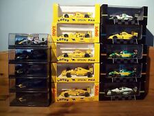 CHOICE OF VARIOUS 1/43 ONYX MODELS FROM LOTUS F1 TEAM
