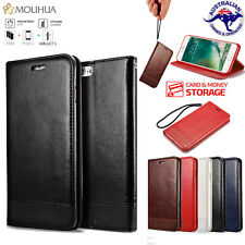 Luxury Magnetic Flip Wallet Leather Stand Case Cover For iPhone 8 7 6 6s Plus