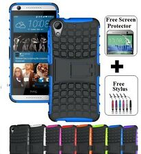 For HTC Desire 626 / 628 Heavy Duty Tough Kickstand Strong Case Cover TPU
