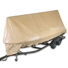 12 mil Heavy Duty Canopy Tarp Desert Sand (Tan) Tent Car Boat Cover (10% off 2+)