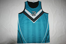 AFL New  Port Adelaide Power Youth Kids Training Singlet, size 6-14, BNWT
