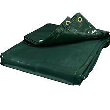 24 mil Heavy Duty Canopy Tarp GREEN Vinyl Tent Car Boat Cover (10$ OFF 2+)