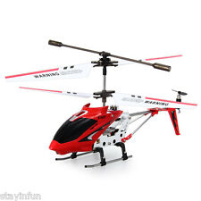 Syma S107G 3CH Remote Control Helicopter Alloy Copter with Gyroscope Cool LED