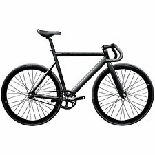 State Bicycle Co Black Label Aluminum Fixed Gear Bike, Matte Black AU SHIPPING