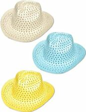 Cowboy Hat Easter Summer Holiday Fancy Dress Accessory Fun Sun Party Western