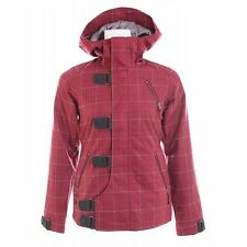 NEW Burton DREAM Women's Snowboarding Ski Jacket / M Medium / NWT / Red Plaid