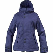 NEW Burton JET SET Women's Snowboarding Ski Jacket / M Medium /Purple Blue NWT