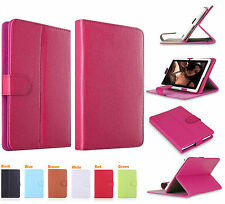 """Universal Leather Folding BOOK Folio Stand Case Cover For All 10""""10.1Tab Android"""
