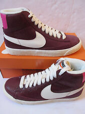 nike womens blazer MID SUEDE VNTG hi top trainers 518171 611 sneakers shoes