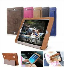 Ultra Slim For iPad Tablet Leather Smart Hand Carry Case Cover Sleep/Wake Stand