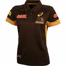 2016 NRL PENRITH PANTHERS ASICS Womens Ladies Media Polo Shirt, sizes 14-16