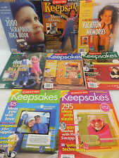 Creating Keepsakes Magazine Scrapbooking Ideas Back Issues U PICK
