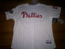CHASE UTLEY PHILADELPHIA PHILLIES MLB MAJESTIC AUTHENTIC COOL BASE GAME JERSEY