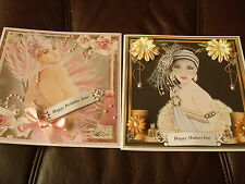 Handmade Personalised Birthday OR Mothers Day Cards