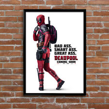 Deadpool Movie Film Poster High Quality Poster Print Art A1, A2+