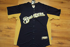 MILWAUKEE BREWERS NEW MLB AUTHENTIC MAJESTIC COOL BASE JERSEY