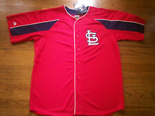 MATT HOLLIDAY ST. LOUIS CARDINALS NEW MLB MAJESTIC DOUBLE PLAY JERSEY