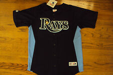 TAMPA BAY RAYS NEW MLB MAJESTIC OFFICIAL KIDS JERSEY